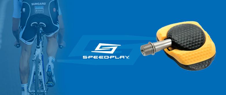 Excelente aerodinámica del pedal Speedplay Zero