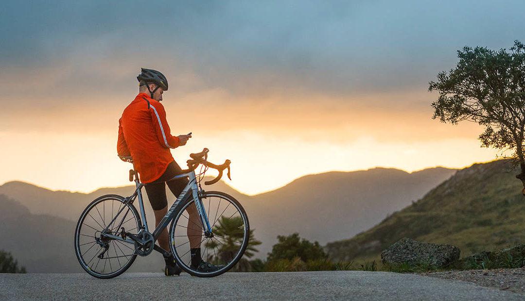 Mapas, estadísticas y señalización de ciclistas