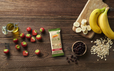 Nuevas barritas PowerBar: REAL5 VEGAN ENERGY BAR