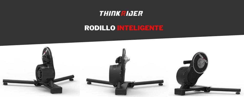 Rodillo inteligente ThinkRider X7: entrena mejor, en menos tiempo, cualquier día