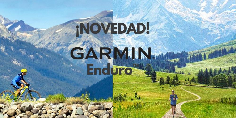 El nuevo Garmin Enduro es para los que aguantan más que nadie.