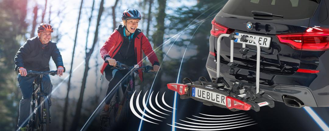Un porta bicis con sensores de aparcamiento. La solución perfecta.