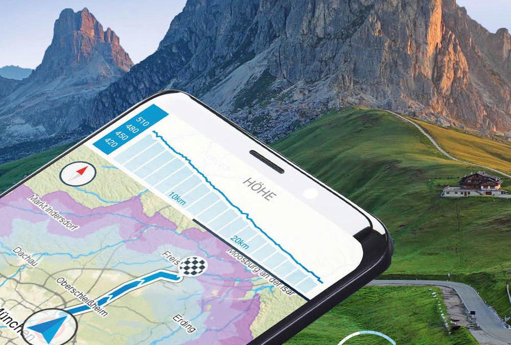 La app de Fischer te cuenta acerca de tu bici y te guía donde quiera que vayas